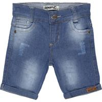 Bermuda Jeans Imports Baby Azul