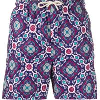Peninsula Swimwear Short De Natação Positano M5 - Azul