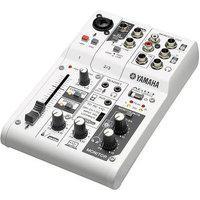 Mesa De Som E Interface De Áudio Para Streamer Yamaha Ag03, 4 Canais, Branco - 59256