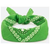 Bandana Verde Com Estampa | Accessories | Verde | U