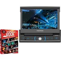 "Dvd Player Automotivo Pósitron Sp6320Bt Com Tela 7"" Touch Screen + Dvd - Box Alternative Rock - 4 Discos"