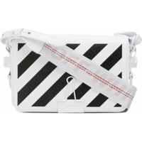 Off-White Bolsa 'Diagonal Binder' Mini - Branco