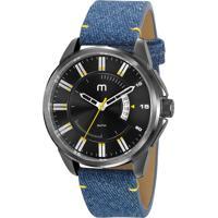 Kit De Relógio Analógico Mondaine Masculino + Pulseira - 53850Gpmgsh1K Azul