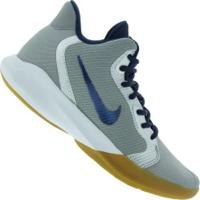 Tênis Nike Precision Iii - Masculino - Cinza Cla/Azul Esc