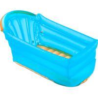 Banheira Inflável Bath Buddy Multikids Baby Azul Ref: Bb173 Com 1 Unidade