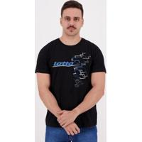 Camiseta Lotto Sequencial - Masculino
