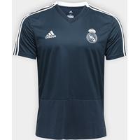 Netshoes  Camisa Real Madrid Treino 2018 Adidas Masculina - Masculino 860d89722decf
