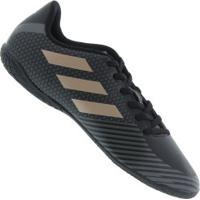 3cb49a800a Chuteira Futsal Adidas Artilheira 18 In - Adulto - Preto Marrom