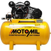 Compressor De Ar Monofásico Bivolt Motomil Cmv10Pl/100