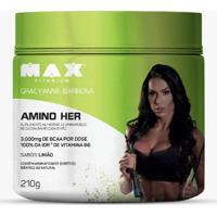 Amino Her 210G Max Titanium - Unissex