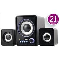Subwoofer Bluetooth Caixa De Som Home Theater Radio Portatil Com Usb Sd Rca 45W Knup