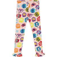 Fendi Kids Calça Legging Estampada - Rosa