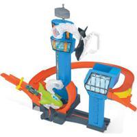 Pista De Percurso E Veículo - Hot Wheels - Jet Jump Airport - Mattel