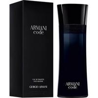 Perfume Armani Code Homme Masculino Giorgio Armani Eau De Toilette 200Ml - Masculino-Incolor