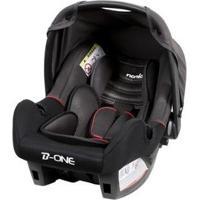 Cadeira Para Auto Nania Beone Luxe Noir Para Crianças Até 13Kg - Unissex-Preto