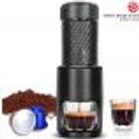 Staresso - Máquina De Café Expresso Portátil Para Café Moído E Cápsulas De Nespresso
