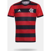 943d8ac6fe6b6 Netshoes  Camisa Flamengo I 2018 S N° Torcedor Adidas Masculina - Masculino