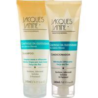 Kit De Shampoo & Condicionador Para Cabelos Oleosos- 240Jacques Janine