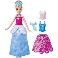 Boneca Princesa Disney Cinderela Troca De Vestidos - Hasbro