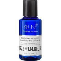 Shampoo Keune 1922 Essential - Travel Size 50Ml - Unissex-Incolor