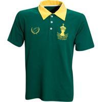 Camisa Liga Retrô Africa Do Sul 95 Rugby - Masculino