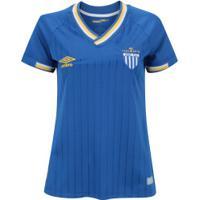 Camisa Do Avaí Iii 2018 Umbro - Feminina - Azul