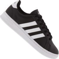 Tênis Adidas Grand Court M - Masculino - Preto/Branco
