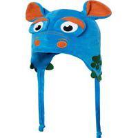Touca Everly Plush Monstrinho Azul