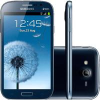 "Smartphone Samsung Galaxy Grand Duos - Dual Core - Gps - 8Mp - 8Gb - 3G - Tela 5"" - Android 4.1 - Azul"