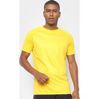 Camiseta Fila Stripes Masculina - Masculino-Amarelo