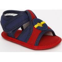 Papete Com Recortes- Azul Marinho & Vermelha- Baby