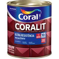 Esmalte Sintético Alto Brilho Coralit Ultraresistência Tabaco 3,6L Coral