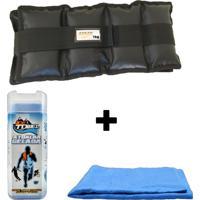 Kit Par De Caneleiras 1 Kg + 1 Toalha Gelada Ice Towel.