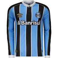 Camisa Umbro Grêmio Oficial 1 2019 Masculina - Masculino