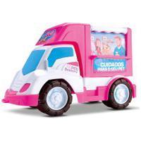 Brinquedo Carrinho Food Truck Veterinária De Menina – Samba Toys