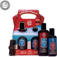 Kit Shampoo 3 Em 1 Qod Barber Shop Old 50'S 240Ml + Loção Pós Barba 120Ml - Masculino-Incolor