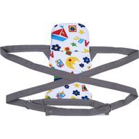 Canguru Baby Brim Bebe Bag Cinza