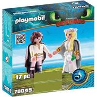Playmobil Bridal Couple Hiccup E Astrid - Unissex-Incolor