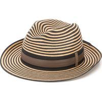 Peserico Chapéu Com Listras - Neutro