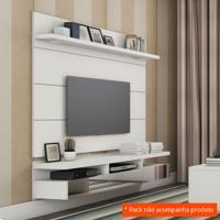 Painel Para Tv 60 Polegadas Horizon Branco Gloss 181 Cm