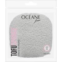 Tofu Sponge Océane - Esponja Para Banho 1 Un - Unissex-Cinza