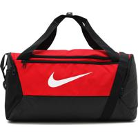 Bolsa Nike Brsla S Duff - 9.0 Vermelha/Preta