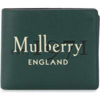 Mulberry Carteira Com Logo Com Logo Gravado - Verde