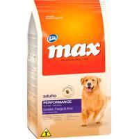 Ração Para Cães Max Professional Line Performance Adultos Sabor Cordeiro, Frango E Arroz 15Kg