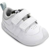 Tênis Infantil Nike Pico 5 Velcro - Masculino-Off White