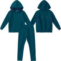 Conjunto Tigor T. Tigre Infantil Masculino - Masculino-Azul