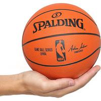 0eb257834 Netshoes  Mini Bola Basquete Spalding Nba Game Ball Réplica Outdoor Rubber  Tam 3 - Unissex