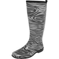 Bota Galocha Fiveblu Cano Longo Zebra