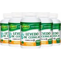 Levedo De Cerveja - 4X 400 Comprimidos - Unilife - Unissex