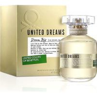 Perfume Feminino Dream Big Edition Benetton Eau De Toilette 80Ml - Feminino-Incolor